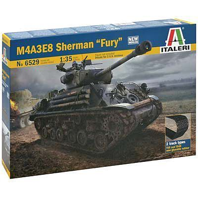 "M4A3E8 Sherman ""Fury"" 1/35"