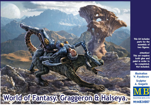 World of Fantasy; Graggaron & Halseya 1/24