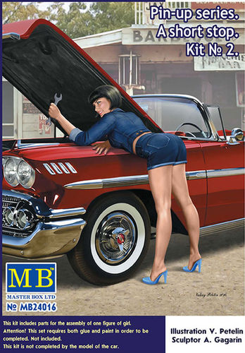 Pin Up series. A short stop Kit No 2 1/24