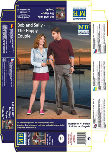 Bob and Sally- The happy couple 1/24