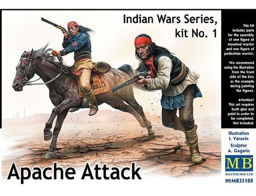 Indian Wars Series, Kit no1 Apache Attack 1/35