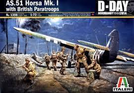 AS.51 HORSA Mk.I/II + British Paratroopers 1/72
