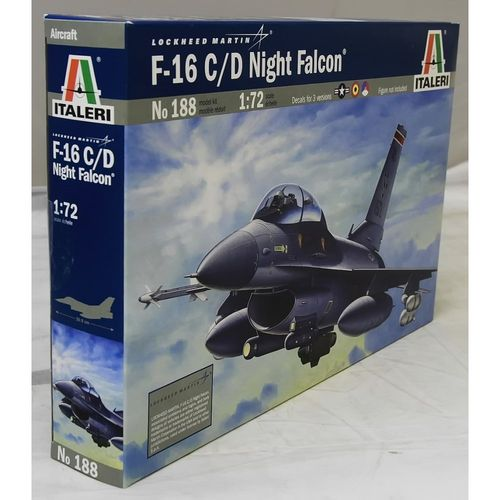 F 16 C/D Night Falcon  1/72