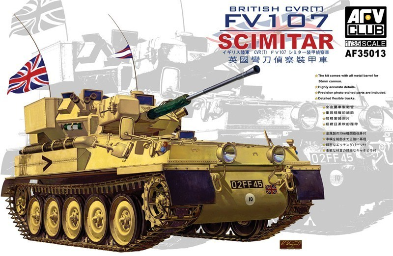 British FV107 Scimitar 1/35