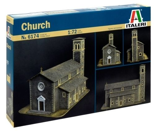 Church / Kerk 1/72