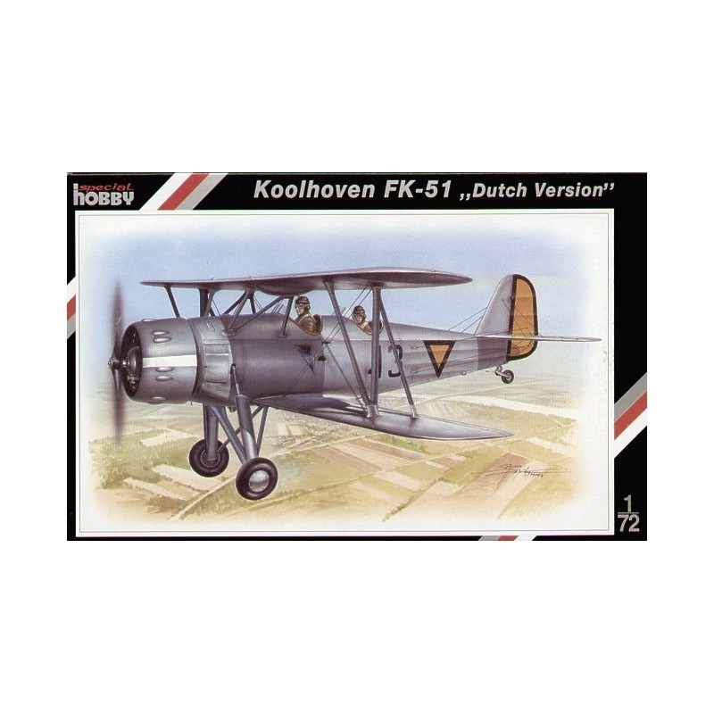 Koolhoven FK-51 Dutch version 1/72