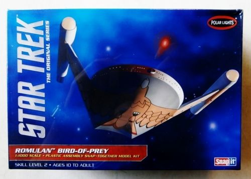 Star Trek Romulan Bird of Prey SNAP