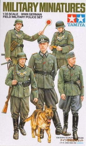 German Field Military Police - WWII 1:35