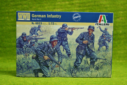 WWII-German Infantry 1/72