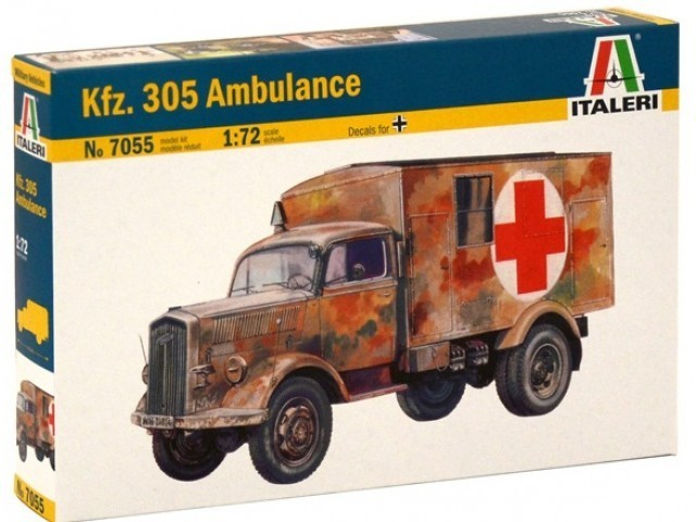 Kfz. 305 Ambulance 1/72