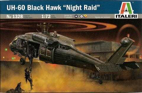 UH-60 Black Hawk 'Night Raid' 1/72