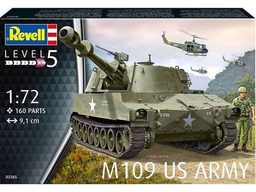 M109 US Army 1/72