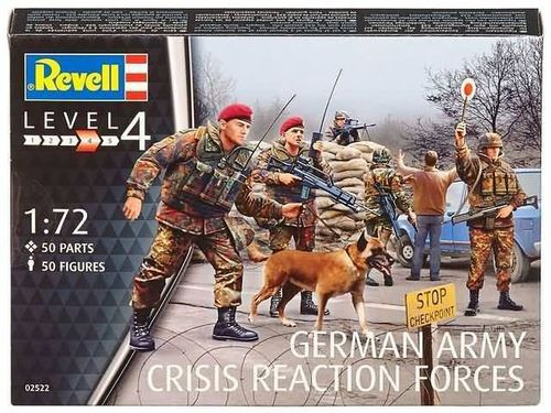 German Army Crisis Reaction Forces 1/72