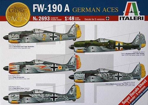 FW 190 A 'German Aces' 1/48