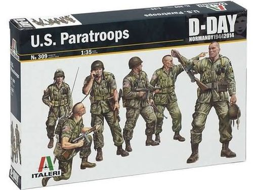 U.S. Paratroopers (D-Day) 1/35