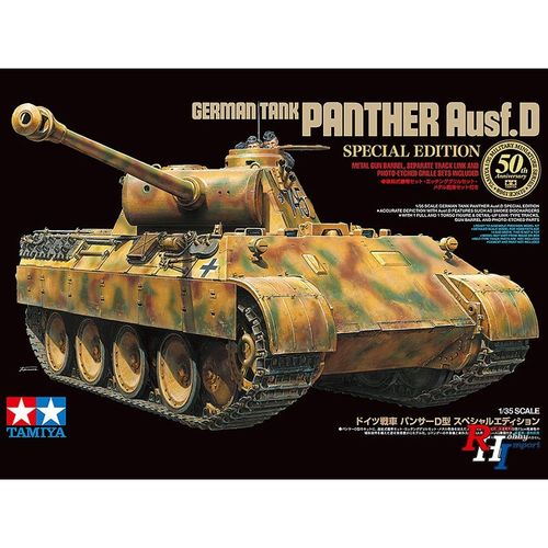 German Tank Panther Ausf. D Special Edition 1/35
