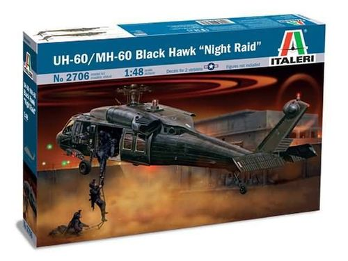 UH-60/MH-60 Black Hawk 'Night Raid' 1/48