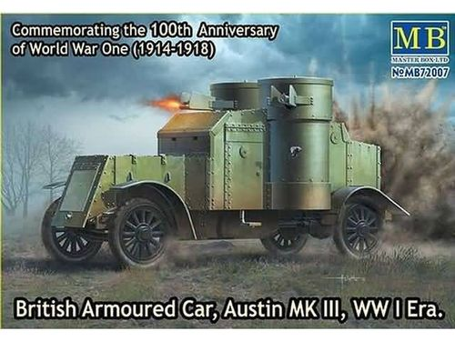 British Armoured Car, Austin, MK III, WW I 1/72