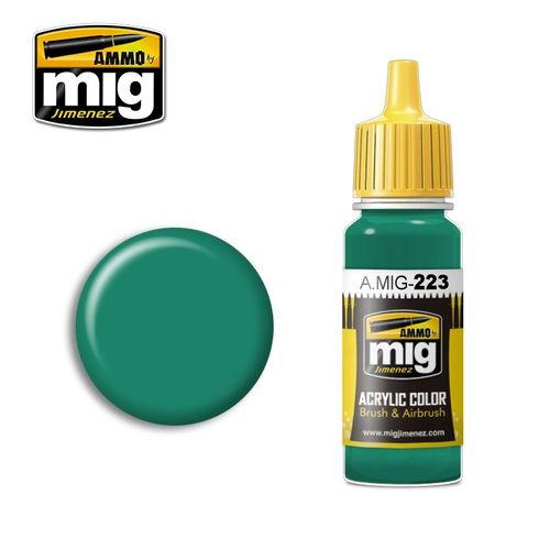 223 Interior Turquoise Green 17 ml