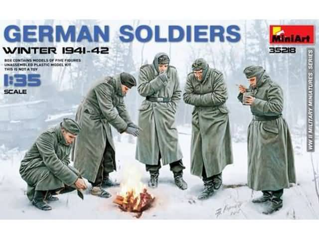 German Soldiers Winter 1941-42 1/35