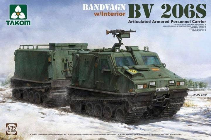 Bandvagn BV 206S Articulated Arm. Per. Car 1/35