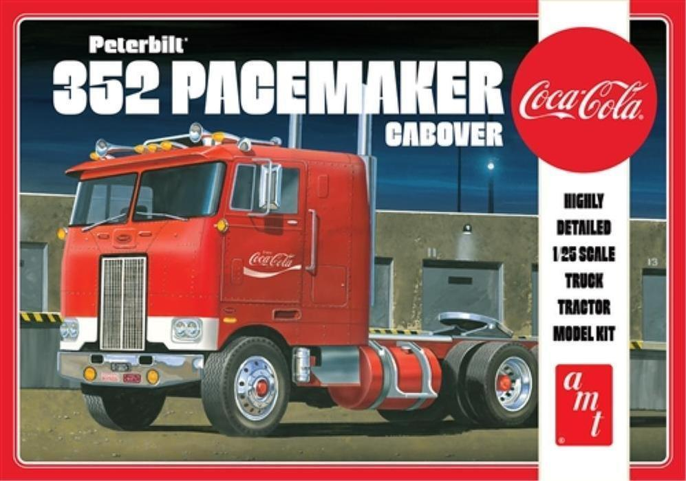 Coca Cola Peterbitl 352 Pacemaker Cabover 1/35
