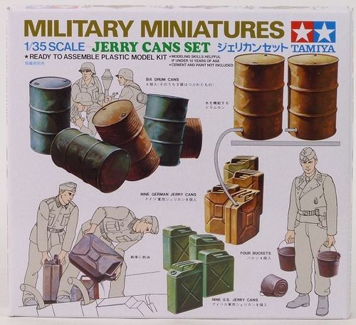 Jerry Cans Set 1/35