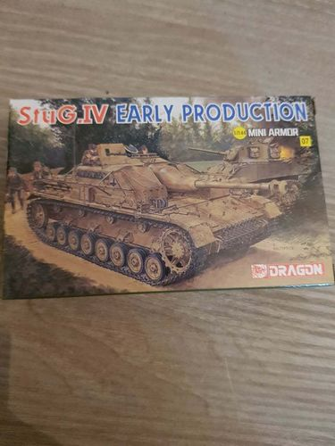 Mini Armor StuG. IV early production 1/144