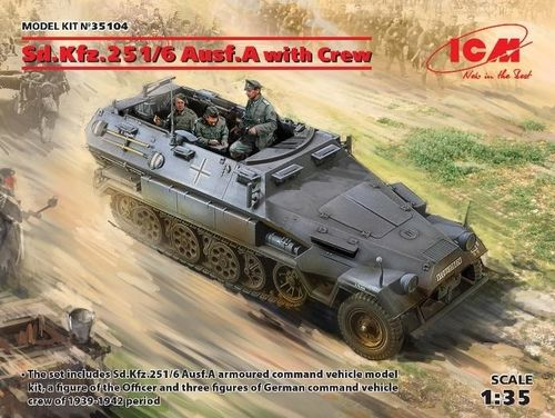 Sd. Kfz. 251/6 Ausf. A. with crew 1/35
