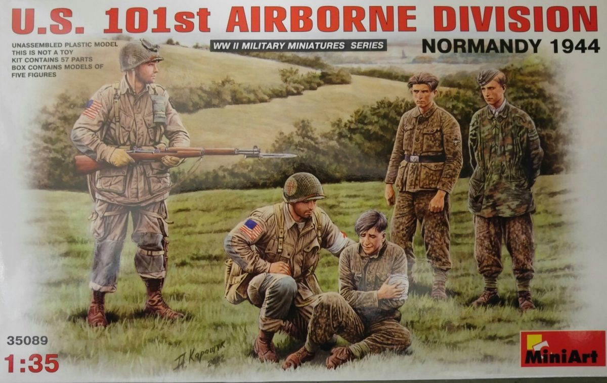 US 101st Airbrone Division 1/35