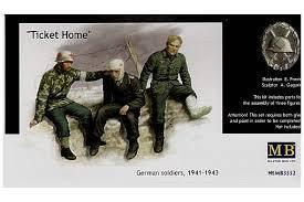 'Ticket Home' German Soldiers, 1941 - 1943 1/35