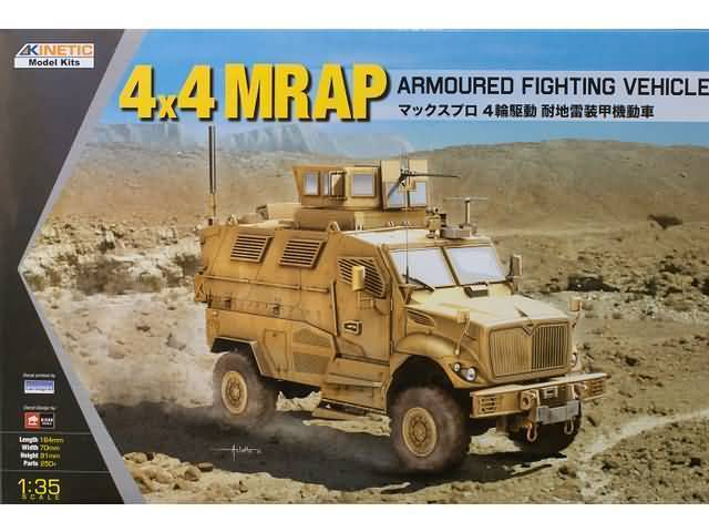 4x4 MRAP Armoured Fighting Vehicle 1/35