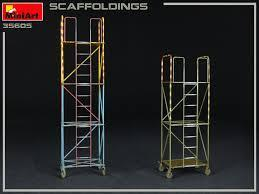 Scaffolding (Stellages) 1/35