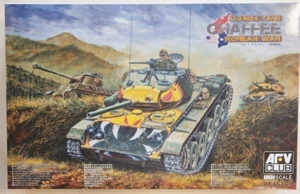 M24 Chaffee Tank - Korean War 1/35