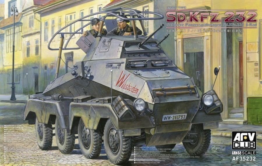 Sd.Kfz.232 8-Rad (Early Type) 1/35