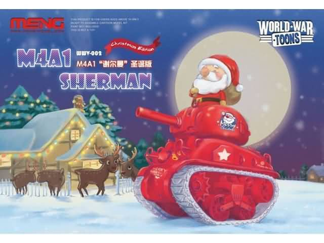 M4A1 Sherman Christmas Edition