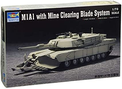 M1A1 with Mine Clearing Blade System 1/72