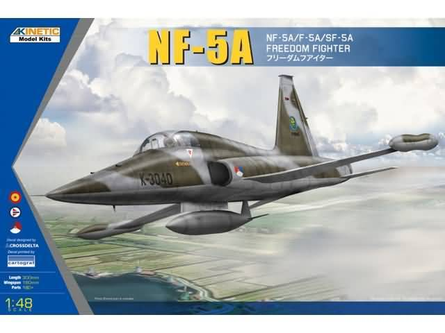 NF-5A Freedom Fighter met NL decals 1/48
